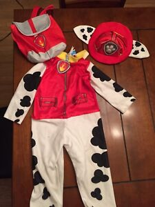 2-3T Marshall costume (says size extra small)
