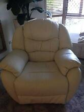 Leather recliner lounge Ipswich Ipswich City Preview