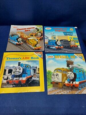 Lot of 4: Thomas The Train Paperback Books