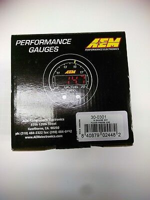 AEM 30-0301 X-Series Electronic 100PSI/7BAR Oil Pressure Gauge Meter