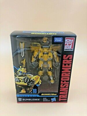 Hasbro Transformers Studio Series 18 Deluxe Bumblebee Action Figure