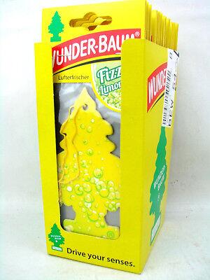 Duftbaum Wunderbaum Lufterfrischer Autoduft Fizzy Limonade 24Stück 24erPack