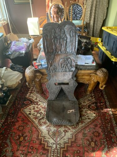 African  Travel Chair
