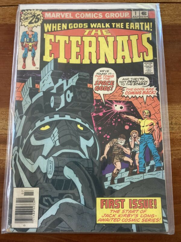 Hot Raw Bronze Age Marvel Key Comic Eternals #1 1st Appearance & Origin CGC It?