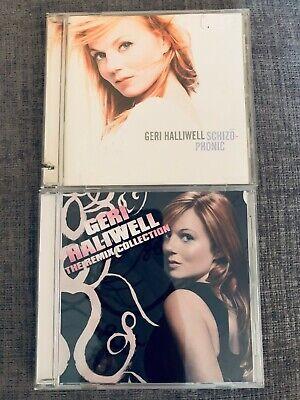 Geri Halliwell 2 CD Spice Girls  + Best Of Hits remixes 12
