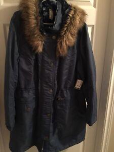 Ladies plus size winter coats