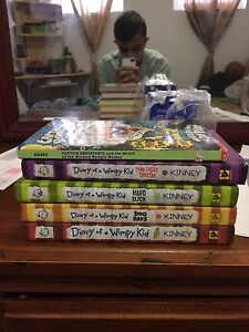 Diary of a wimpy kid 5 novels