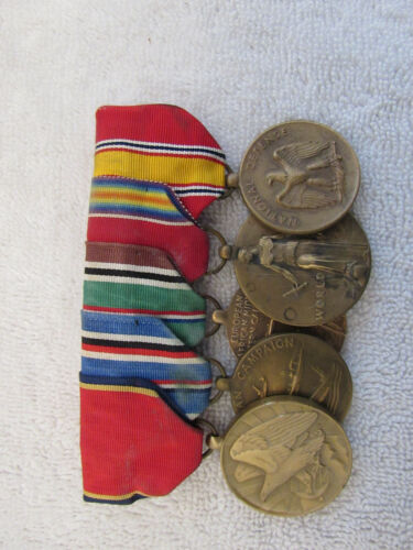 Vintage WWII US Navy Medals