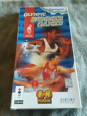 Olympic Summer Games (3DO, 1996) Complete in Long Box! CIB 3DO