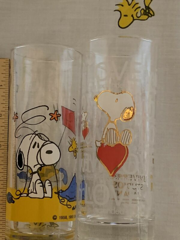 Peanuts Snoopy Thin Glasses Beautiful