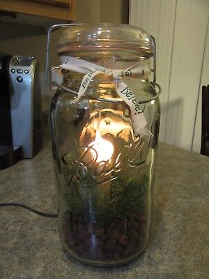 Ball IDEAL Large Eagle Glass Canning Jar Electric 12