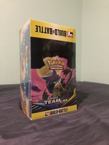 Pokemon Tcg Team Up Build And Battle Box Case Of 10 Prerelease Kits Sun & Moon