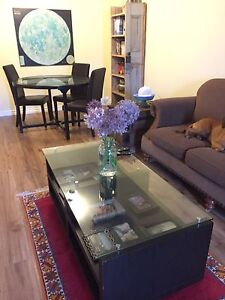 Matching Coffee Table + Kitchen Table & 4 Chairs