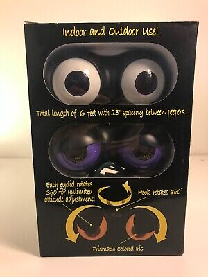Peep N Peepers Halloween Lights (New Peep n' Peepers Flashing Eyes Halloween Lights set of)