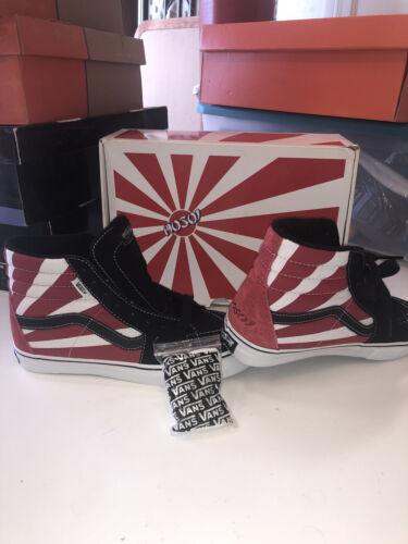 Vans Hosoi Sk8 Hi Christian Rising Sun Mens Size 7 Skate Shoes 2nd Edition Rare