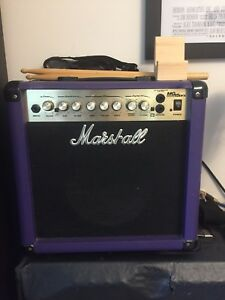 Purple Marshall Amp