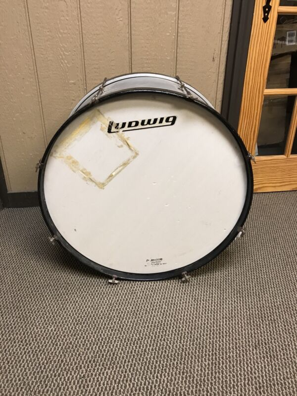 Vintage Ludwig Bass Drum 27x14