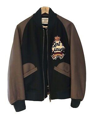 kent and curwen small Leather Jacket Varsity David Beckham
