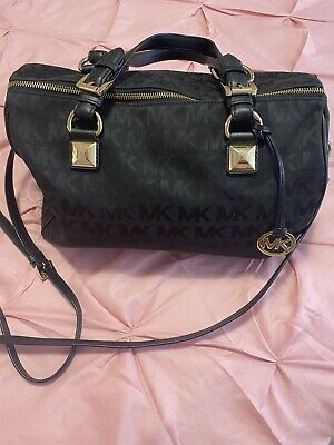Used Authentic Michael Kors Black Bag