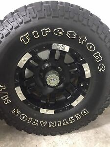 Four LT 285/75/16 Firestone Destination M/T