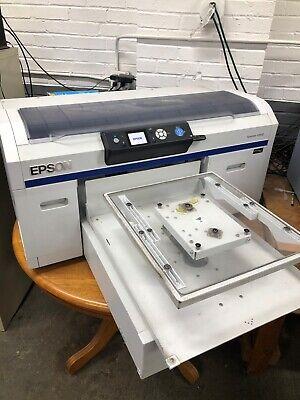 Epson F2000 Dtg T-shirt Tee Shirt Printer Printing Direct To Garment