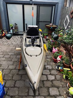 Hobie Quest 13 with sidekick outriggers