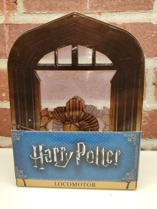 NEW Lootcrate Harry Potter Piertotum Locomotor Metal Bookends Hogwarts Guardian