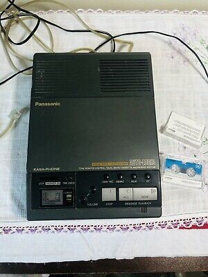 Panasonic Easa-Phone KX-T5100 Automatic Telephone Answering System w 3 Tapes