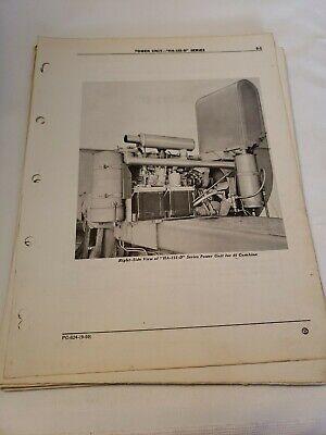 John Deere Ha 155 D Power Unit For 45 Combine Parts Manual Catalog Pc624