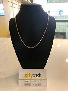 16ct Solid Gold 44cm Chain Adelaide CBD Adelaide City Preview