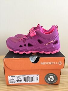 Merrell toddler size 9 hydro shoes - brand new