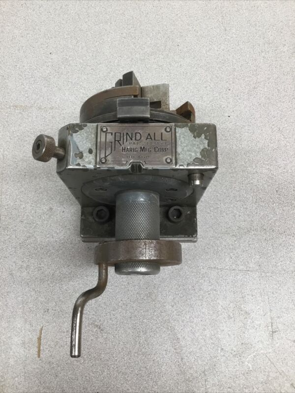 Harig Grind All Indexing Grinding Fixture Grindall
