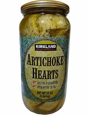 Kirkland Signature Artichoke Hearts from Spain Marinated in Oil 33 oz