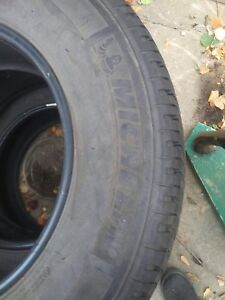 Set of 4 Used Michelin LT265/70R18 LTX AT2