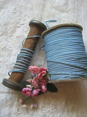 2 rolls curling ribbon pink and teal 250 yds  each made in USA vintage stock 38 wide