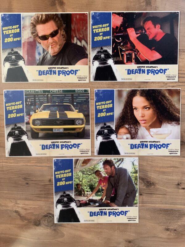 Grindhouse Death Proof Rare 8x10 Lobby Card Replicas Reprints Quentin Tarantino