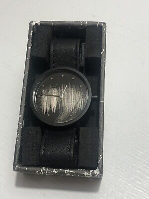 South Lane Stockholm Unisex 8203 Swiss Analog Display Swiss Quartz Black Watch
