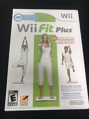 Wii Fit Plus - Nintendo Wii - NEW! SEALED! FAST! FREE SHIPPING! segunda mano  Embacar hacia Argentina