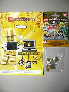 Lego minifigures series 11 mr gold