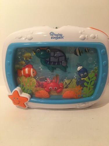 Baby Einstein Sea Dreams Soother Crib Toy Fish Aquarium No Remote - $24.99