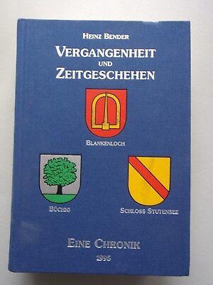 Vergangenheit Zeitgeschichte Blankenloch Büchig Schloss Stutensee Eine Chronik