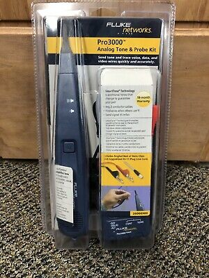 Fluke Networks 26000900 Pro3000 Tone Generator And Probe Kit - New In Box