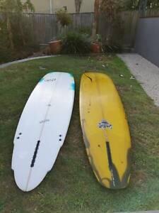 Longboard Mal surfboard