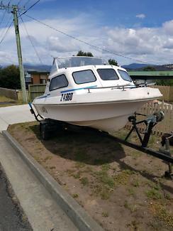 55hp fibreglass boat PRICE DROP NEED GONE!