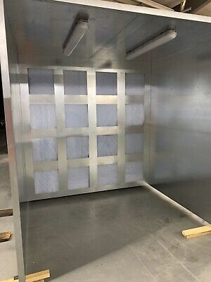 8x8x8 Powder Coating Spray Booth Paint Booth . Free Shipping