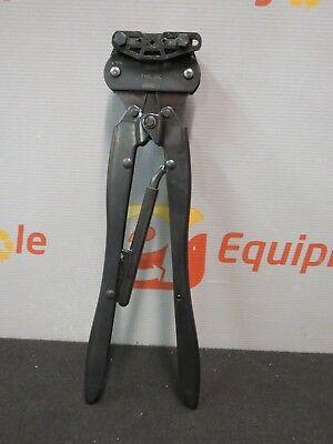Amp Tyco Type Bmc 69245-1 Hand Crimper Crimping Tool Ratchet Coaxicon