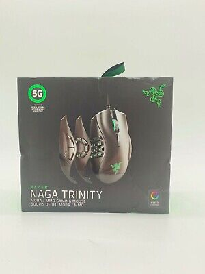 Razer - Naga Trinity - Chroma Gaming Mouse w/ 19 buttons