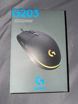 Logitech G203 Lightsync Gaming Mouse