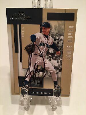 Jamie Moyer Autograph Baseball Card