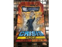"DC Universe Infinite Heroes Crisis 3.75/"" WILDCAT Figure #15 Series 1 NIP"